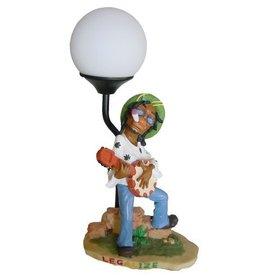 H.Originals Rastaman met lamp en banjo 35 X  CM 1 assortiment