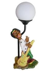 H.Originals Rastaman lamp met gitaar 35 X  CM 1 assortiment