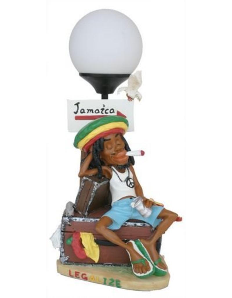 H.Originals Rastaman met lamp to Jamaica 35 X  CM 1 assortiment