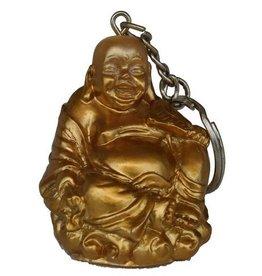 H.Originals Happy buddha sleutelhanger 5 X 4 CM 1 assortiment