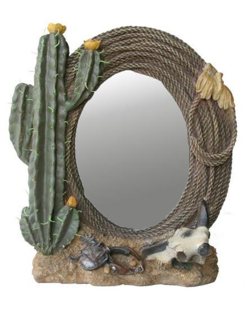 H.Originals Spiegel met cactus 33 X  CM 1 assortiment