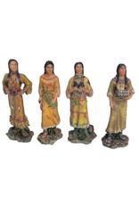 H.Originals Indiaan vrouw 11 X  CM 4 assortiment