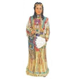H.Originals Indianen vrouw met veer 22 X  CM 1 assortiment