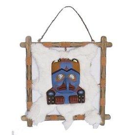 H.Originals Masker in houten frame 40 X  CM 1 assortiment