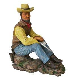 H.Originals Cowboy zittend 22 X 25 CM 1 assortiment