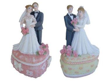Bruiloft decoratie beelden