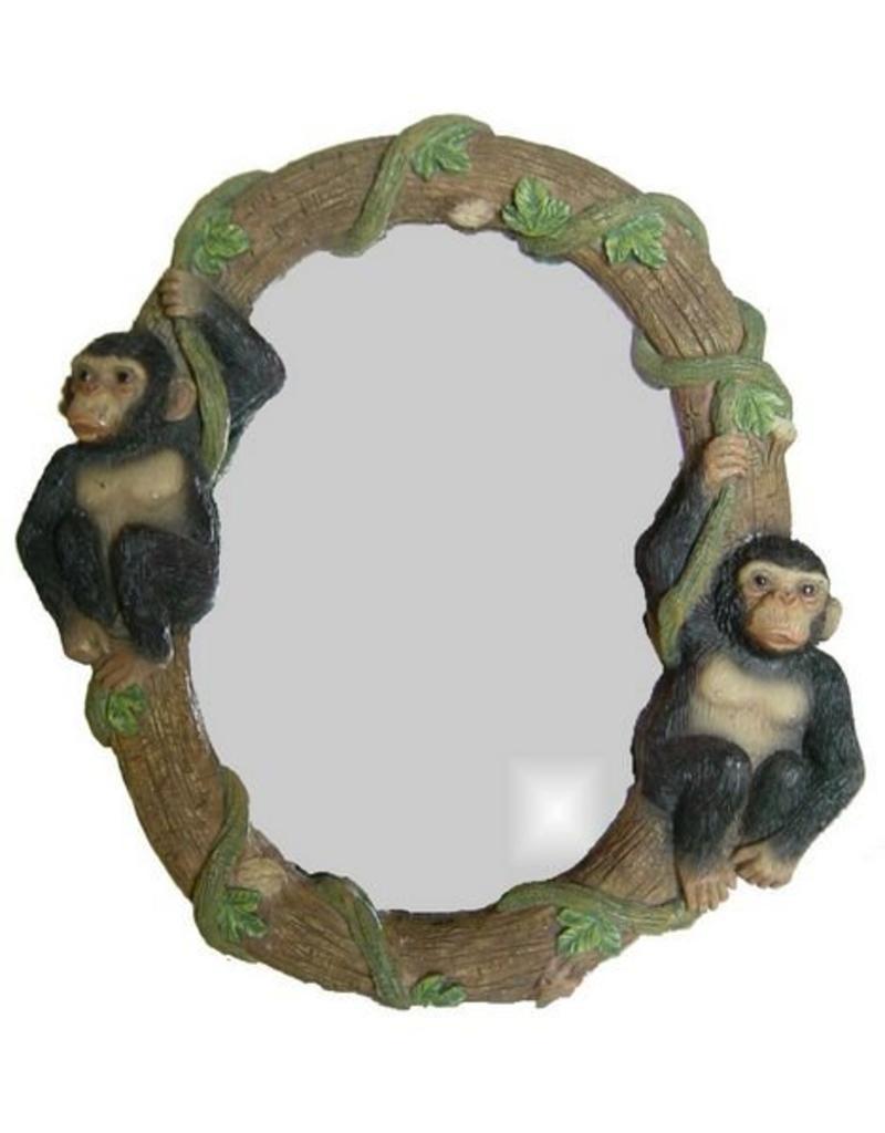 H.Originals Spiegel met apen 24 X  CM 1 assortiment