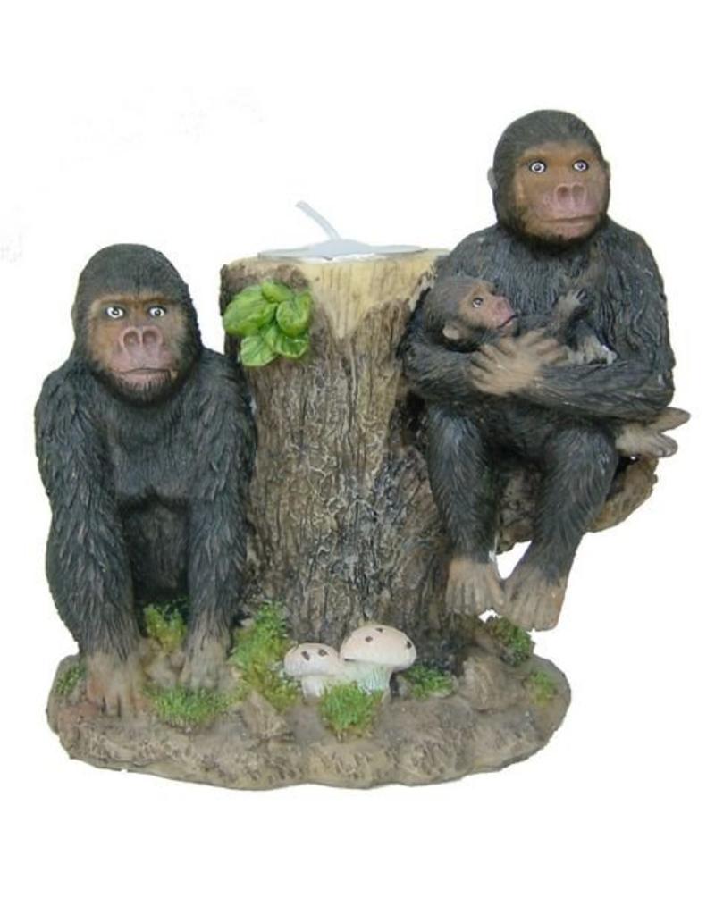 H.Originals Twee apen waxine houder 10 X  CM 1 assortiment