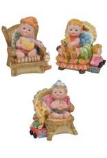 H.Originals Baby op stoel 9 X 8 CM 3 assortiment
