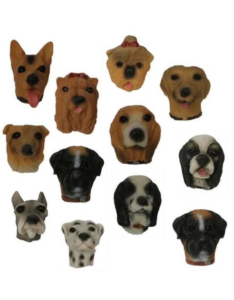 H.Originals Hond koelkastmagneet 4 X 3 CM 12 assortiment