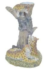 H.Originals Luipaard met waxinehouder  X 14 CM 1 assortiment