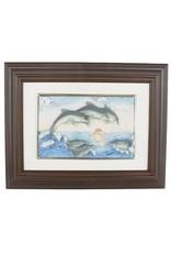 H.Originals Dolfijn schilderij 21 X 16 CM 1 assortiment