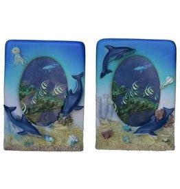 H.Originals Fotolijst dolfijn 19 X 14 CM 2 assortiment