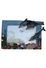 H.Originals Fotolijst met dolfijn 4 X 6 CM 1 assortiment