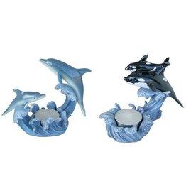 H.Originals Dolfijn / Orca waxine 10 X  CM 2 assortiment