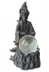 H.Originals Zwarte skelet met bol 20 X  CM 1 assortiment