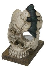 H.Originals Skelet met waxine 14 X 12 CM 2 assortiment