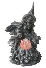 H.Originals Zwarte heks met licht 24 X  CM 1 assortiment