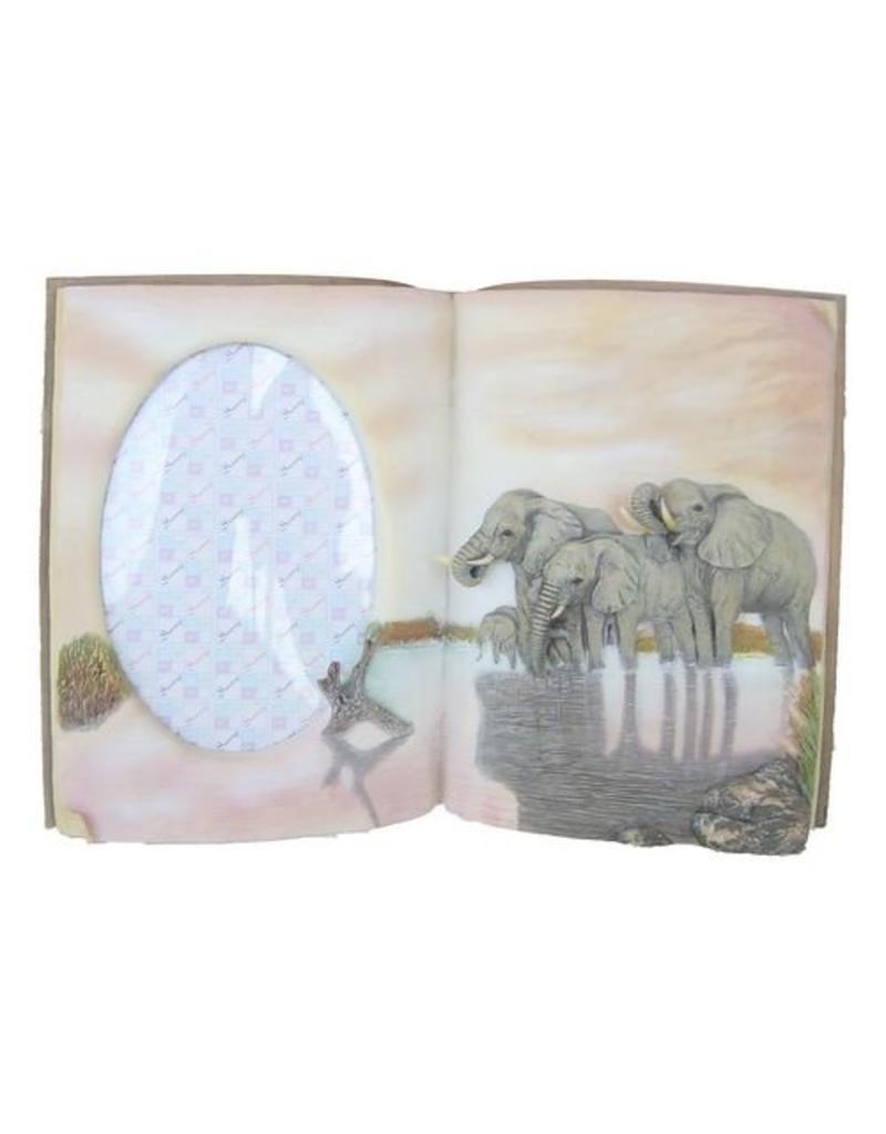 H.Originals Fotolijstboek olifant  X  CM 1 assortiment