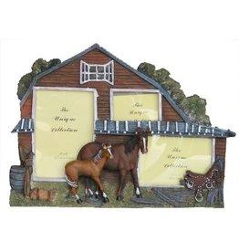 H.Originals Paarden fotolijst met 3 foto's 29 X  CM 1 assortiment