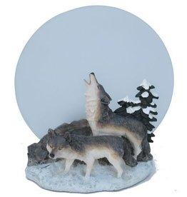 H.Originals Wolf waxine 19 X 17 CM 1 assortiment