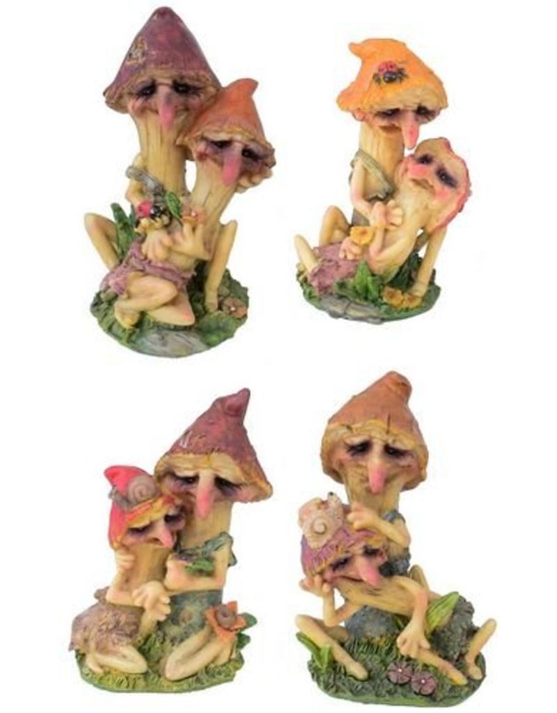 H.Originals Twee paddenstoelen 15 X 12 CM 4 assortiment