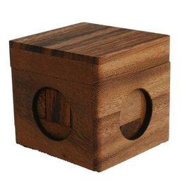 H.Originals Houten puzzel 7 X 7 CM 1 assortiment