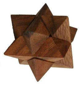 H.Originals Ster houten spelletje 7 X  CM 1 assortiment