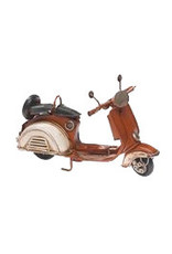 W.F. Peters Scooter rood 17 x 7 x 10 cm