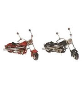 W.F. Peters Motors rood en zwart 11 x 5 x 7,5 cm per set van 2