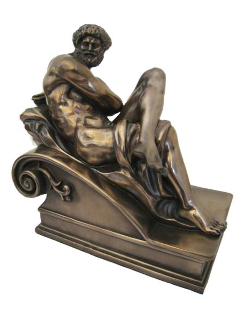 W.F. Peters Michaelangelo by Day hg 20 cm lg 19 cm