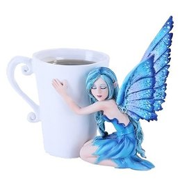 W.F. Peters Blue Fairy by Amy Brown hg ca 13 cm
