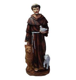 W.F. Peters St. Franciskus met schaap 40 cm.
