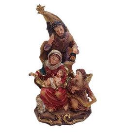 W.F. Peters Heilige familie met ster hg 13 cm