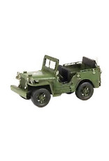 W.F. Peters Willy's leger jeep 8,2 x 8,5 x 16,6 cm