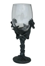 H.Originals Draak glas 18 X 10 CM 2 assortiment
