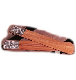 H.Originals Olifant boekenlegger hout 9 X 3 CM 2 assortiment
