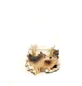 H.Originals Wolf waxine 7 X  CM 1 assortiment