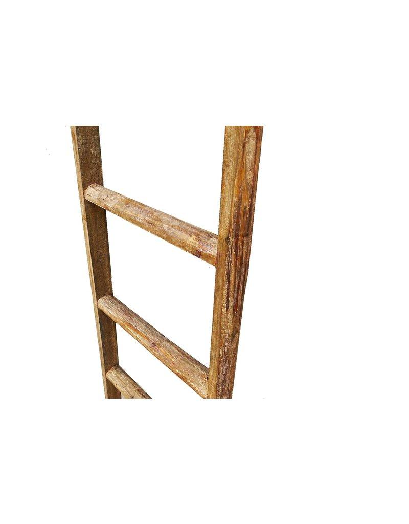 Dutch mood | Zaltii Houten decoratieve trap 110 centimeter met 3 treden.