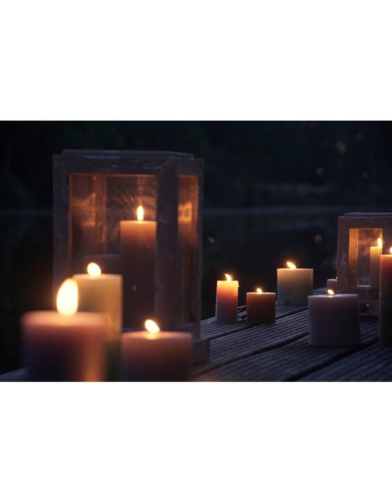 Dutch mood | Zaltii Prachtig set van 2 houten lantaarns, uiterst decoratief!