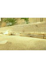 Dutch mood | Zaltii Lang houten dienblad met metalen handvatten uit de Marianne serie 78x20 centimeter.
