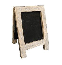 Dutch mood | Zaltii Klein houten krijtbord 13x19 centimeter.