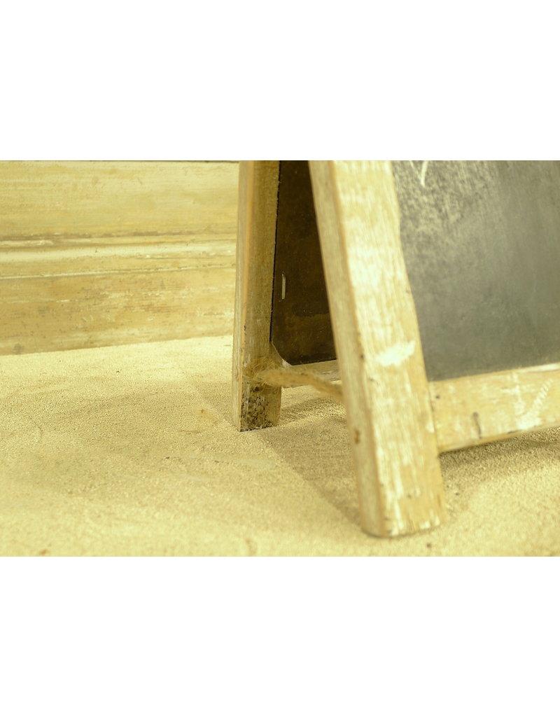 Dutch mood | Zaltii Klein houten krijtbord van 13x19 centimeter.