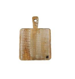 Dutch mood | Zaltii Vierkante houten snijplank 40x28x4 centimeter