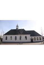 Dutch mood | Zaltii Tuinspiegel van hout in de vorm van een kerkraam 40x142 centimeter. De grootste in onze serie tuinspiegels van hout.