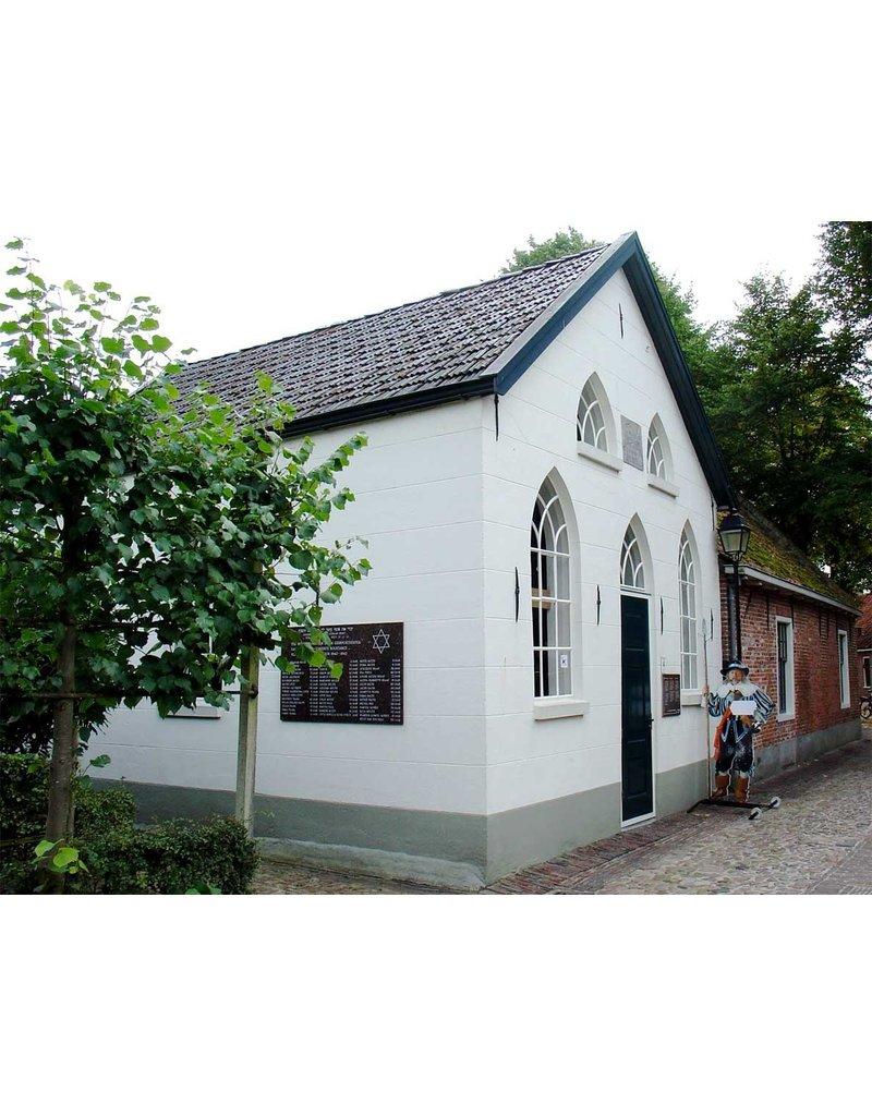 Dutch mood | Zaltii Smalle tuinspiegel van hout in de vorm van een kerkraam 40x109 centimeter. De smalle versie in onze serie tuinspiegels van hout.