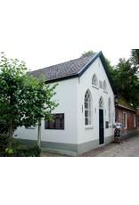 Dutch mood | Zaltii Lange tuinspiegel van hout in de vorm van een kerkraam 55x120 centimeter. De langste in onze serie tuinspiegels van hout.