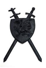 H.Originals Gothic schild met draak en zwaarden