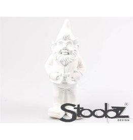 Stoobz STOOBZ KABOUTER STAAND WIT 17X14X33 CM