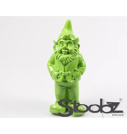 Stoobz STOOBZ KABOUTER STAAND LIME GROEN 17X14X33 CM